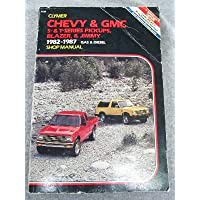 Chevy and Gmc S-And T-Series Pickups, Blazer and Jimmy, 1982-1988: Gas and Diesel Shop Manual