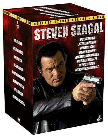 Steven seagal : vol d'enfer ; affaire cia ; black dawn ; affaire van haken ; hors de portee [FR IMPORT]