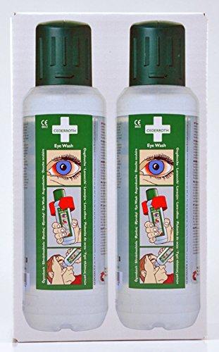Cederroth Augendusche Nachfüller, 2 x 500 ml
