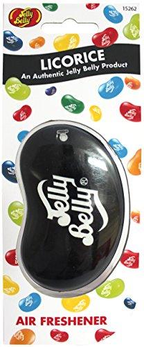 Jelly Belly 15262NB-CUS-FPS 3D Lufterfrischer, Licorice