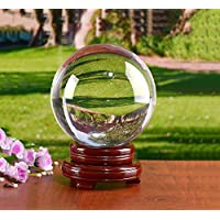 MerryNine K9 Crystal Ball with stand for Photography crystal sphere Lensball