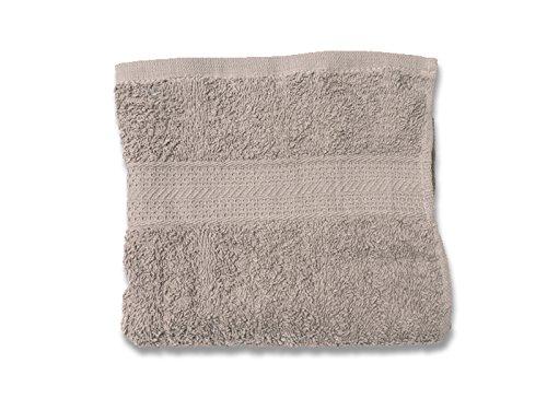Soleil d'ocre Serviette de Toilette Douceur Coton Ecru 50 x 90 cm