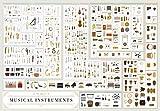 Il grafico degli strumenti musicali