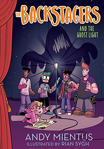 the Ghost Light (Backstagers #1) ()