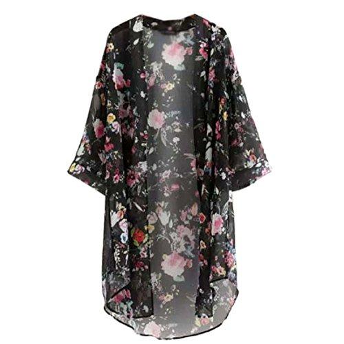 internet-women-floral-printed-half-sleeve-chiffon-kimono-cardigan-coat-s-black