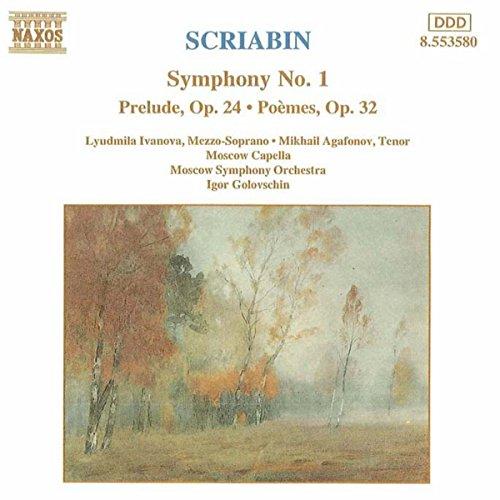Scriabin Sinfonie 1 Golovschin (Scriabin-sinfonien)