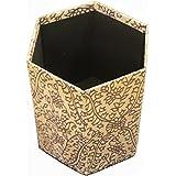 Handcrafted Collapsible Hexagonal Waste Paper Bin