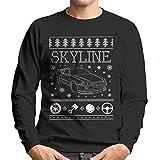Nissan Skyline Christmas Knit Men's Sweatshirt