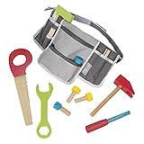 roba 97209 roba Werkzeuggürtel, mit vielen Taschen und 11-teiligem Zubehör, Schrauben, Nägel, Hammer