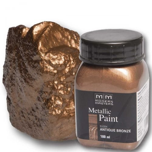 antique-bronze-metallic-paint-100ml-modern-masters-metalleffektfarbe-metallfarbe