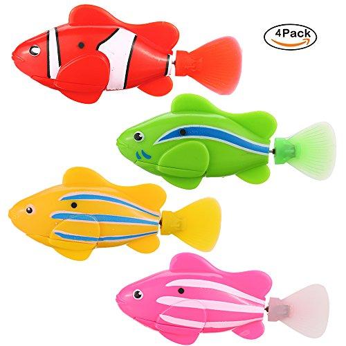 Elektrischer Roboterfisch 4 Farben/Stück - 12,09 €