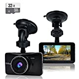 OldShark Dash Cam (with 32GB Card) 1080P Full HD 3.0