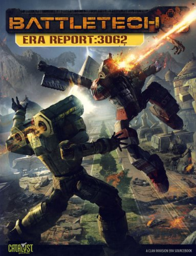 Battletech Era Report 3062 (Clan Invasion Era Sourcebooks)