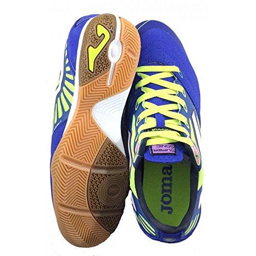 Joma , Chaussures pour homme spécial foot en salle - Royal-Amarillo
