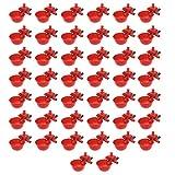 YoungerY Tazze Automatiche per annaffiatoio per Pollo 50Pcs / Set Tazze per Bere abbeveratoio per gallinacei di Pollo Uccello Rosso