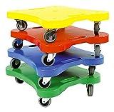 Lernen und Spielen 26x 40cm Farbe Sortiert Rollerboard Set (4-teilig)