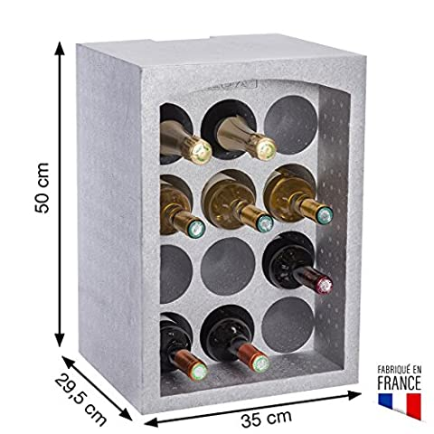 Casiers Modulable - Casier à bouteille/support bouteille modulable en polystyrène