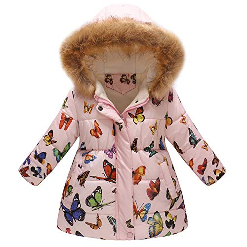 NPRADLA 2018 Unisex Baby Kinder Winter Mantel Daunenmantel -