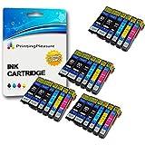 24 Compatibles Epson 26XL Cartuchos de tinta para Epson Expression Premium XP-510 XP-520 XP-600 XP-605 XP-610 XP-615 XP-620 XP-625 XP-700 XP-710 XP-800 - Negro/Fotográfico Negro/Cian/Magenta/Amarillo, Alta Capacidad