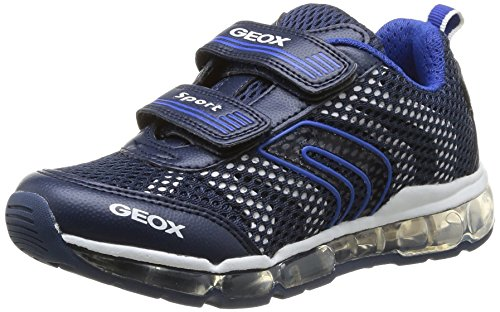Geox J ANDROID BOY A, Low-Top Sneaker bambino, Blu (Blau (NAVY/WHITEC4211)), 29
