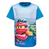 Lego Wear Jungen T-Shirt Ninjago M, Blau (Blue 569), 128