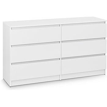 Galdem Kommode Mit 6 Schubladen 140cm Sideboard Mehrzweckschrank