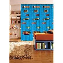 Disney Cars - 1 cortina 140x290 cm - dormitorio de los niños - Azul
