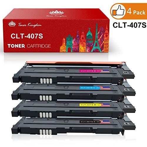Toner Kingdom 4 Pack Compatibili Samsung CLT-K4072S Cartucce Per toner Samsung CLP-320 CLP-320N CLP-320W CLP-320N CLP-325 CLP-325N CLP-325W CLX-3180 CLX-3180FN CLX-3180FW CLX-3185 CLX-3185F CLX-3185FN CLP-3185FW CLX-3185N CLX-3185W Stampante