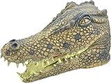 Onlysportsgear Erwachsene Karneval Dschungel Party Halloween Weihnachten Weihnachten Tier clubwear Cosplay Maske - Krokodil, One size