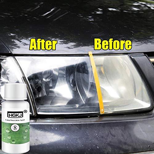 Scheinwerfer Reparatur Set, Auto Scheinwerfer Reparaturations Politur kit für Fuzzy, oxidiert, Kratzer, Verfärbte -