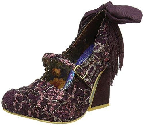 Irregular ChoicePick a Lilly - Scarpe con Tacco donna , Viola (Purple (Bordo)), 38
