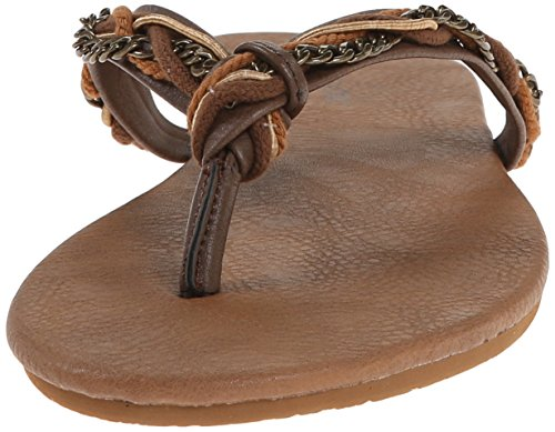Volcom Damen Flip Flops 'Beach Party' (W0811551) Farbe: Brown Brown