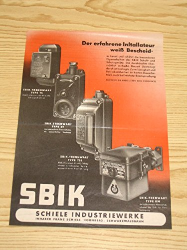 SBIK - Schalt- und Schutzgeräte