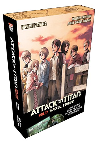 Attack On Titan 17 Special Edition W/dvd Cover Image
