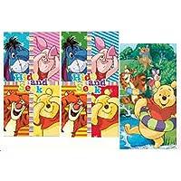 Disney Winnie Pooh - Set di 3asciugamani per bambini, dimensioni pezzo singolo: 35x 65cm