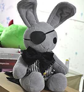 Black Butler Kuroshitsuji Bitter Rabbit Anime Plush Doll by Cosplaywho