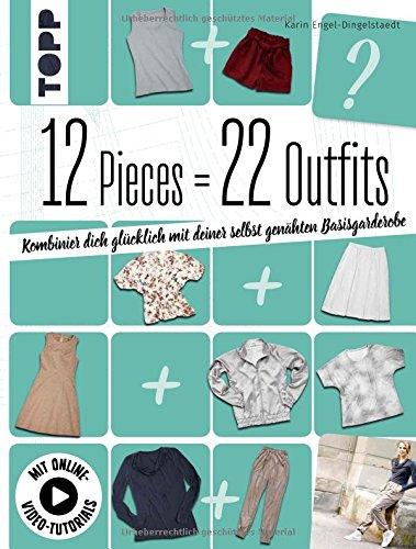 12 Pieces = 22 Outfits: Kombinier dich glücklich mit deiner selbstgenähten (Für Kinder Engel Outfits)