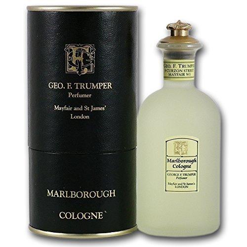 Trumper Marlborough Cologne Verre Crown Décoré de Bouteille (100 ml)