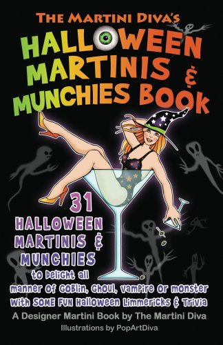 The Martini Diva's Halloween Martinis & Munchies Book (English Edition)