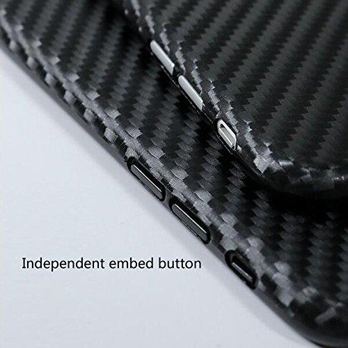 iPhone 6/6S custodia di alta qualità con pellicola protettiva per lo schermo, Xinrd ultra-sottile soft-tpu anti-shock anti-graffio della copertura per APPLE66S 11,9cm, nero