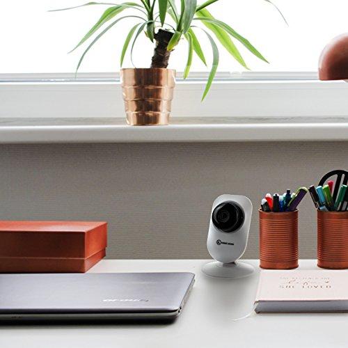 KOBERT GOODS drahtlose IP Indoor-Überwachungskamera APP KG26 HD Netzwerk IP Kamera mit IR-Nachtsicht P2P Zwei-Wege-Audio Mikrofon Digital Zoom Bewegungserkennung WiFi Wlan - 4