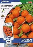Portal Cool Johnsons pictórica Pack - verduras - zanahoria mercado de París 5 (Atlas) - 1000 Semillas