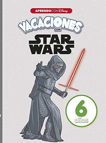 Vacaciones con Star Wars. 6 años (Aprendo con Disney) por Disney
