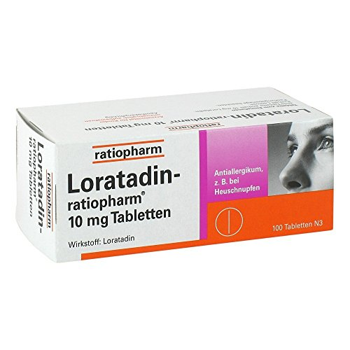 Loratadin Ratiopharm 10 Mg Tabletten 100 St (Loratadin Tabletten)