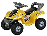 #6: Toyhouse Desert King Small ATV Bike 6V Rechargeable Battery Operated Ride On, Yellow