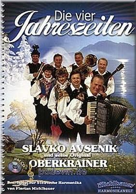Slavko Avsenik - Die vier Jahreszeiten - Steirische Harmonika Noten | ©podevin-de [Musiknoten]