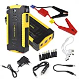 Automaze 69800mah LED Input Four USB Car Jump Starter Booster Portable Power Bank