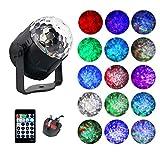 Disco Lights, AVEKI Disco Ball Stage Lights 15 Color Modes Magic Ball Lamp