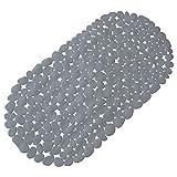 Wanneneinlage, Wannenmatte, Sicherheitseinlage Kieseldekor Steinoptik Farbe: Grau Größe: 67 x 35cm