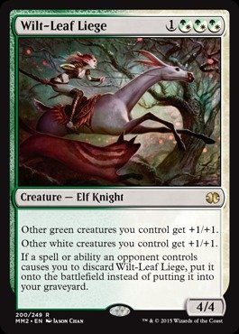 Leaf Liege (Magic: the Gathering - Wilt-Leaf Liege (200/249) - Modern Masters 2015 by Magic: the Gathering)